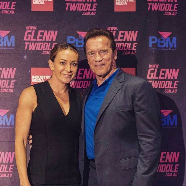 Mish with Arnie Total Success conference
