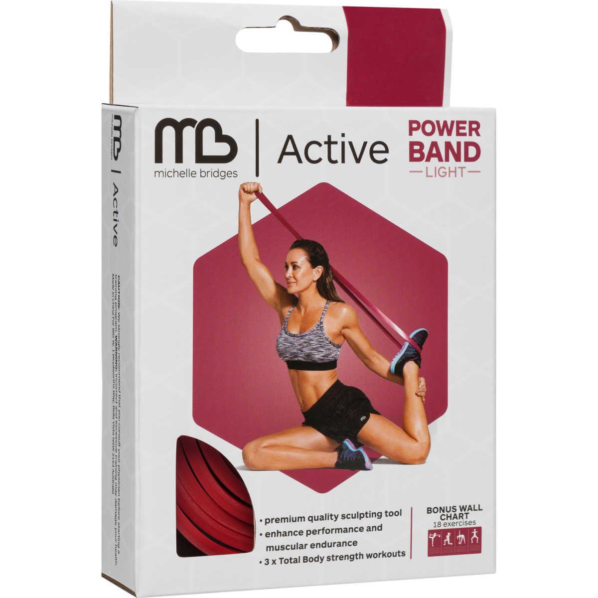 Total Gym Big W: MB Active Light Power Band