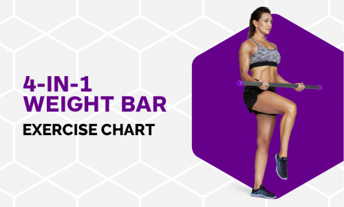 Excercise Chart - 4-in-1 Weight Bar
