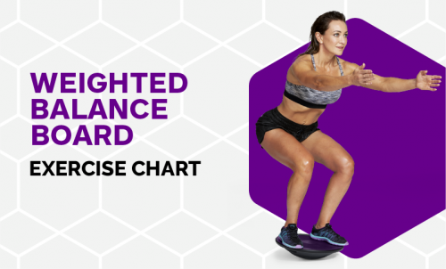 Excercise Chart - Weighted Balance Board