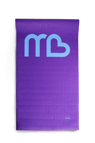 Yoga mat (with printed logo)