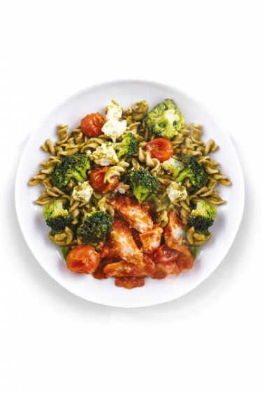 Spinach and Ricotta chicken pasta, Delicious Nutritious Meal